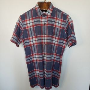 Patagonia // plaid short sleeve button down